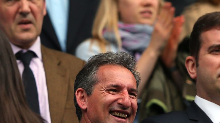 Man City director of football Txiki Begiristain played a key role in negotiations