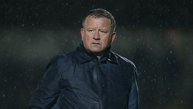 Chris Wilder: Enjoyed stellar January at Northampton