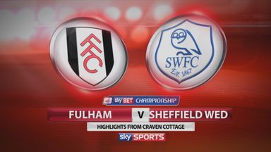 Fulham 4-0 Sheff Wed