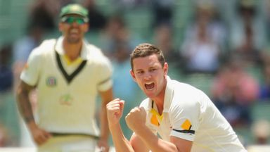 Josh Hazlewood: Could be a huge weapon for the visiting Aussies