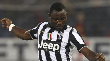 Kwadwo Asamoah: Has undergone surgery on his knee