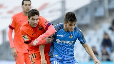 Pablo Sarabia: Grabbed the winner late on for Getafe