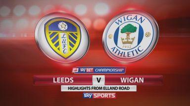 Leeds 0-2 Wigan