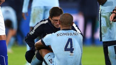 Vincent Kompany: May not play again this season