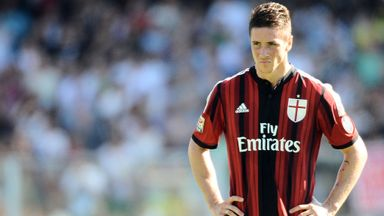 Fernando Torres: Set to end AC Milan loan and rejoin Atletico Madrid
