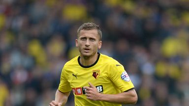 Almen Abdi: Was substituted in Watford