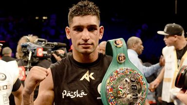 Amir Khan: Returns to the ring later this month