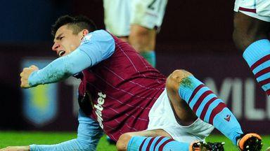 Ashley Westwood: Injury blow for Aston Villa