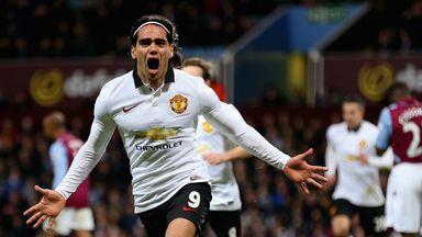 Radamel Falcao has struggled for goals at Man Utd