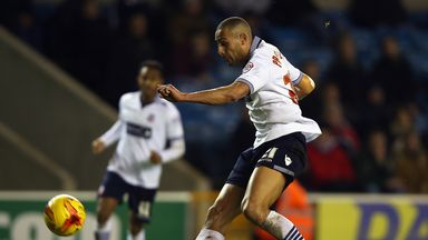 Darren Pratley: Fires home the winner for Bolton