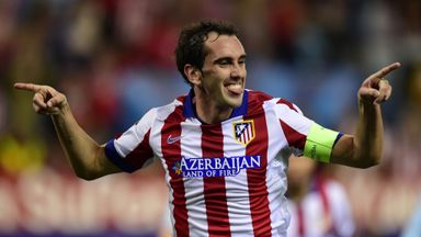 Diego Godin: Highly rated at Atletico