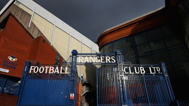 Ibrox Park: Home of Scottish Championship side Rangers, who posted losses of £2.6m for six months to December 31, 2014.
