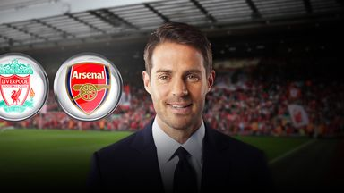 Jamie Redknapp is predicting a score draw on Sunday