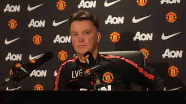 Louis van Gaal: Will not discuss Gareth Bale with the media