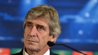 Manchester City manager Manuel Pellegrini: Focused turned to domestic matters