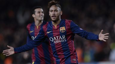 Neymar: Fit to face Cordoba