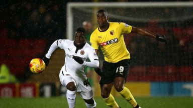 Nouha Dicko: Scored the winner for Kenny Jackett's men