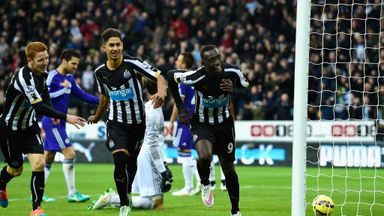 Papiss Cisse: Scored two goals against Chelsea last Saturday.