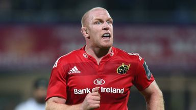 Paul O'Connell:  Not signed for Toulon, say French club