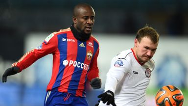 Doumbia has joined Roma from CSKA Moscow for £10.8m