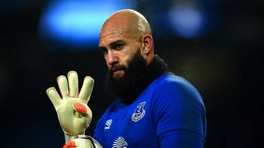 Tim Howard: Everton goalkeeper has launched  his autobiography