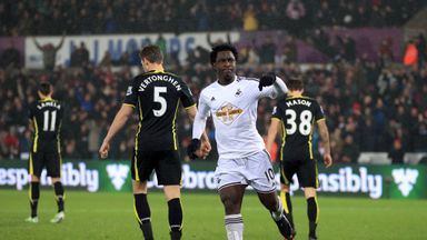 Wilfried Bony: The striker has scored a third of Swansea's Premier League goals