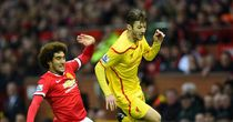 Adam Lallana: Replaced at half-time against Man United