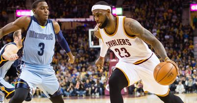 James too good for Grizzlies