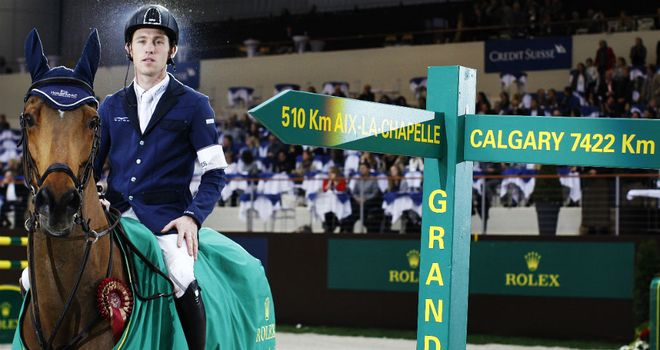 Scott Brash: Wins at Palexpo on his horse Hello Sanctos