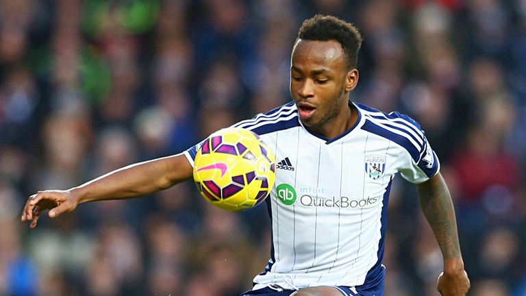 Saido Berahino: Has an eye on a move away from West Brom to a bigger club