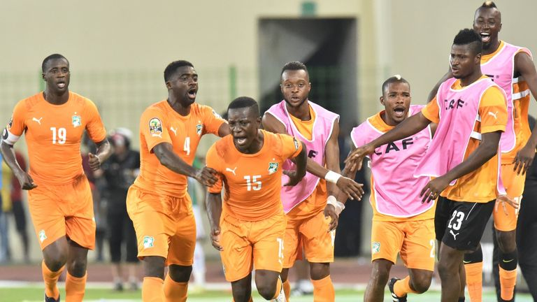Max Gradel: Goal sent the Ivory Coast to the quarter-final's