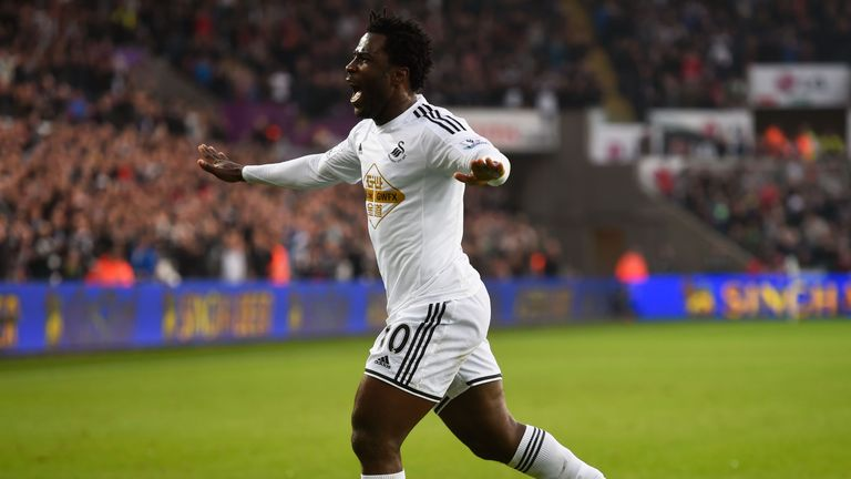 Wilfried Bony is back at Swansea and looking to rediscover his goalscoring touch