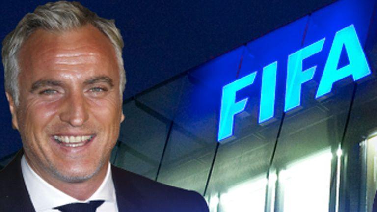David Ginola & Paddy Power Fifa leadership campaign