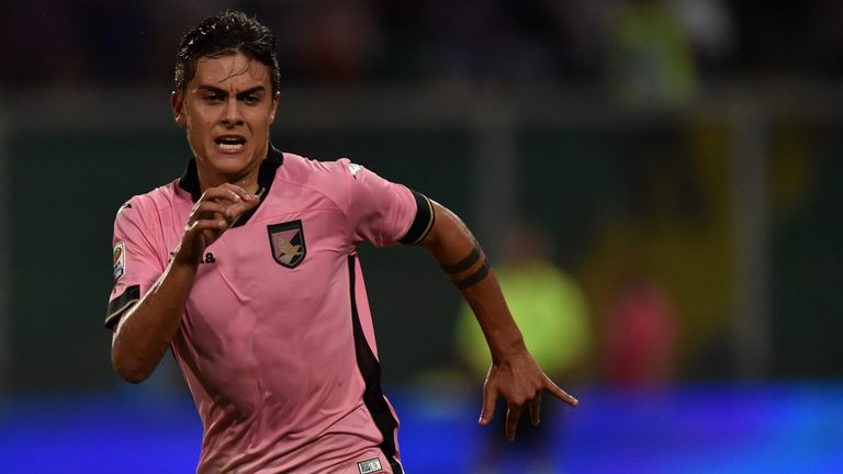Paulo Dybala: Drawing rave reviews for play with Palermo this season