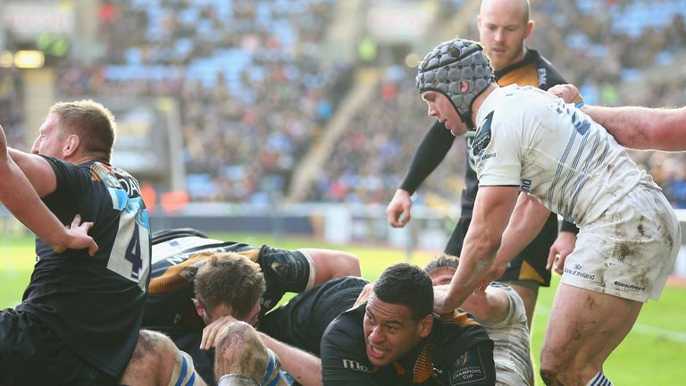 Nathan Hughes: Scored the try that earned a draw for Wasps