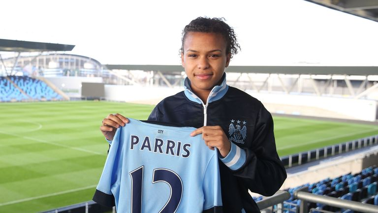 Women S Football On Loan Striker Nikita Parris Targets