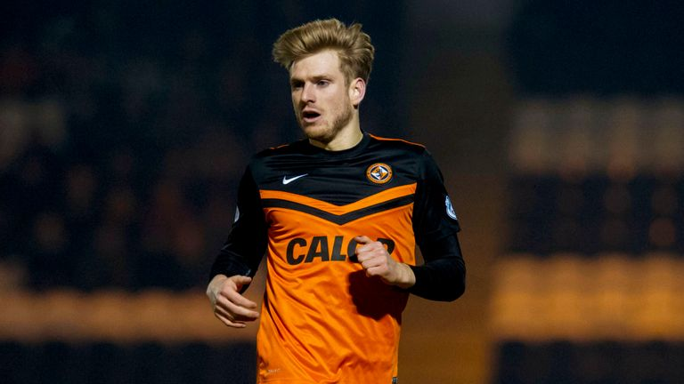 Stuart Armstrong: Helped Dundee Utd to Scottish League Cup final