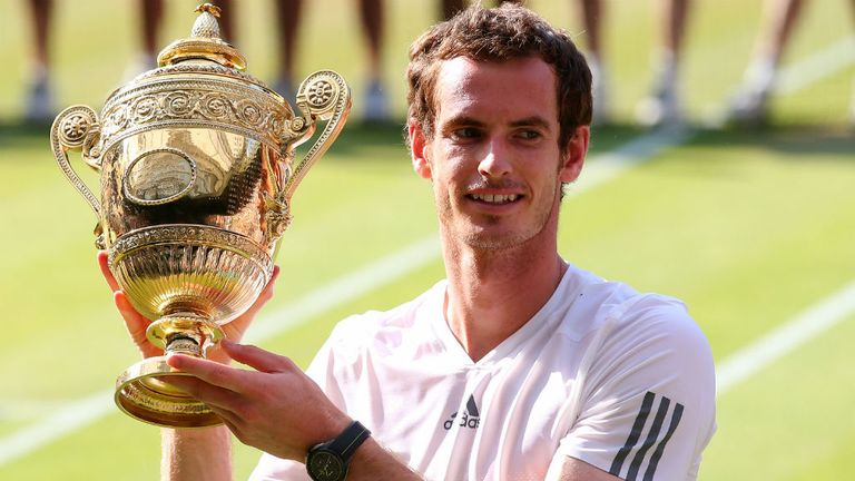 Andy Murray - Wimbledon champion in 2013