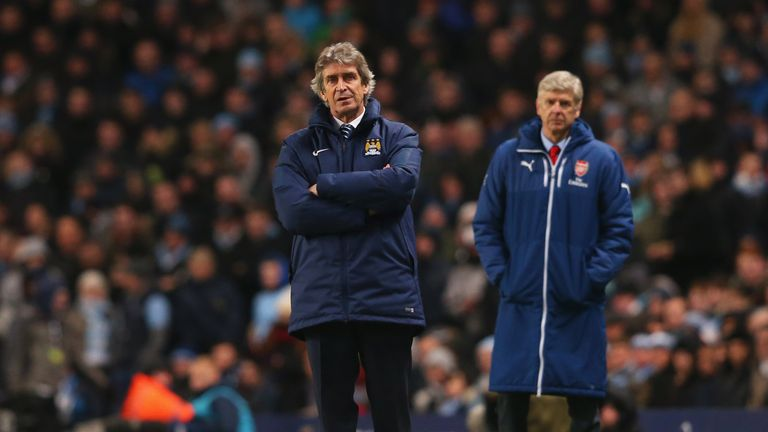 City boss Pellegrini and Arsenal's Wenger have tactical issues to address, says Cascarino