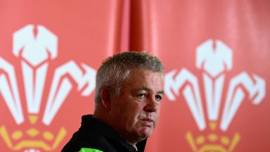 Warren Gatland: The Wales coach is blessed with strong back-three options.