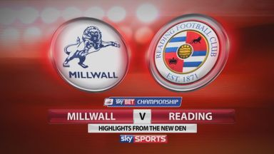 Millwall 0-0 Reading