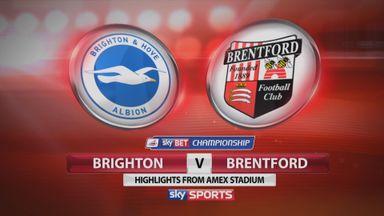 Brighton 0-1 Brentford