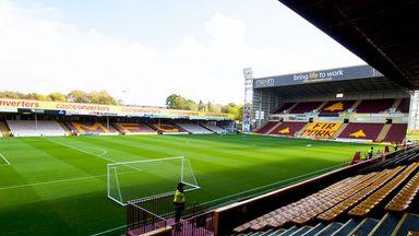 Fir Park: Will host the second leg of Motherwell v Rangers