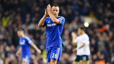 Chelsea captain John Terry has fond memories of the league cup