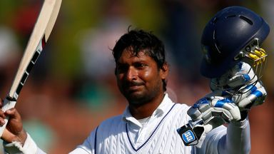 Kumar Sangakkara: The batsman made 34 in Sri Lanka