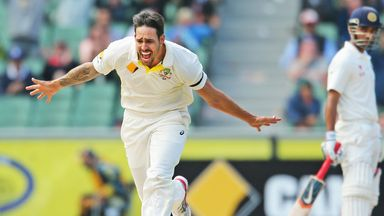 Mitchell Johnson is likely to return on Monday or in the Tri-Series final next weekend