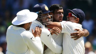 Ravi Ashwin took 10 wickets in a Test for the fifth time as India beat New Zealand