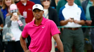 Tiger Woods: Former world No 1 shot a 44 over the front nine in second round of the Phoenix Open