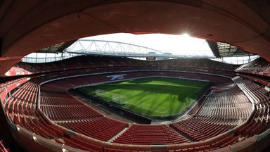 Emirates Stadium: Arsenal's ground will host an international friendly between Brazil and Chile in March