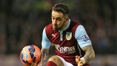 Danny Ings: Set to remain at Burnley until the end of the season